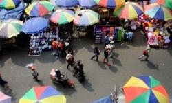 Ratusan PKL di Jalur Pedestrian Pengadilan Bogor Ditertibkan