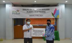 PLN UP2B Jakarta dan Banten Berbagi Bingkisan ke Anak Yatim