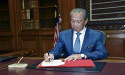 Raja Malaysia Tolak Usulan Status Darurat Covid PM Muhyiddin