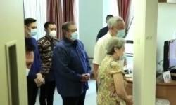 Lee Hsien Loong Jenguk Ani Yudhoyono