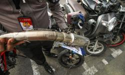 Polresta Bogor Kota akan Tindak Motor Berknalpot Bising