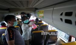 Yogyakarta Gelar Operasi Bus-Bus yang datang dari luar kota.
