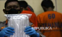 Polda Jatim Gagalkan Penyelundupan 6 Kg Sabu dari Malaysia