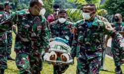 Dua Jenazah Korban KKB di Kiwirok Dievakuasi ke Jayapura