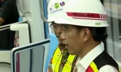 LRT di Palembang, Jokowi: Lokal Kontennya 95 Persen