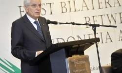 Presiden Republik Italia Sergio Mattarella