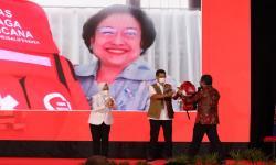 Megawati Resmikan Gerakan Budaya Siaga Bencana