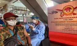 Tangcity Mall-Polres Metro Tangerang Kota Gelar Vaksinasi