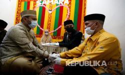 In Picture: Pasangan Ini Mengikat Janji Suci Pernikahan di Masa Pandemi