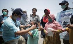 Pupuk Indonesia Salurkan Ribuan Masker di Jakbar