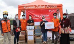 TD Williamson Salurkan Donasi untuk Relawan Sriwijaya SJ182