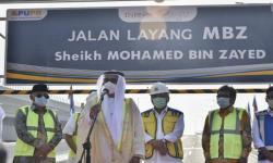 Mohamed Bin Zayed Resmi Jadi  Nama Tol Layang Japek