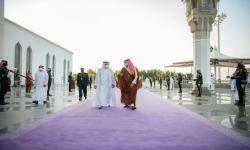 Saudi Ubah Warna Karpet Seremonial, Simbol Kemurahan Hati