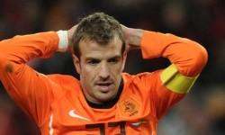 Rafael van der Vaart saat masih memperkuat timnas Belanda.