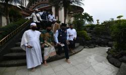 Khawatir Picu Klaster Lapak PKL Masjid Atta'awun Dibongkar