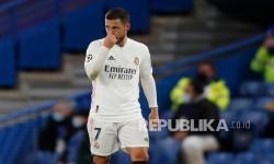 Tertawa Setelah Madrid Tersingkir, Eden Hazard Minta Maaf