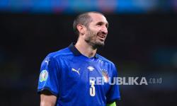 Kapten timnas Italia Giorgio Chiellini.