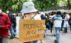 Puluhan Wanita Afghanistan<em></em> Protes ke Taliban