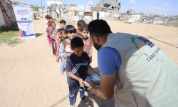 ACT Datangkan Humanity Food Truck untuk Warga Palestina