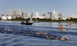 Pengalaman Unik Atlet Renang Maraton 10 Km Olimpiade Tokyo