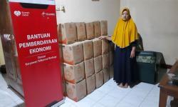 Rumah Zakat-Telkomsel Salurkan Bantun Modal untuk BUMMas