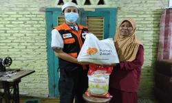 Rumah Zakat Bantu Sembako Bagi Wanita Tangguh