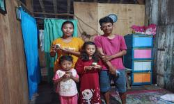 Rumah Zakat Berbagi Superqurban bagi Keluarga Mualaf