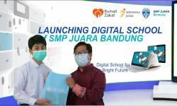 Luncurkan SMP Juara, Rumah Zakat Bagikan 203 Tablet