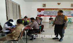 Stok Darah Kosong, PMI Jemput Bola ke Kantor Polisi