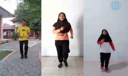 Senam Irama Adaptif Bagi Disabilitas Netra Karya UNS