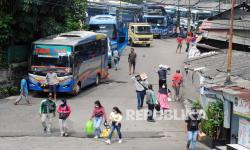 In Picture: Sejumlah Terminal Bus Kembali Beroperasi Pascalarangan Mudik