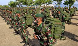 In Picture: Kedatangan Prajurit Satgas Pamtas RI-RDTL