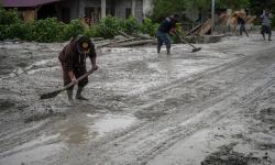 In Picture: Banjir Kembali Terjang Desa Beka, Kabupaten Sigi, Sulteng