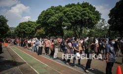 Vaksinasi Covid-19 di Kota Tangerang Capai 50 Persen