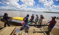 30 Tim Bakal Turun Bersihkan Sungai di Banjarmasin