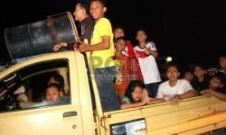 Polres Sukabumi Putar Balik Wisatawan Pakai Mobil Pikap