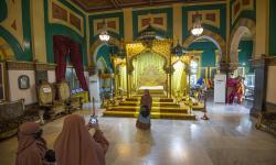 In Picture: Berkunjung ke Istana Maimun Saat Pandemi Covid-19