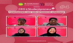 CEO Talk BM 400 Kupas Kota Berwawasan Lingkungan