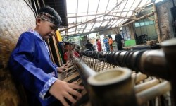 KPKNL Bandung, Lelang Alat Musik Saung Angklung Udjo