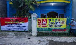 In Picture: Ruang Isolasi Mandiri Pasien Covid-19 Bagi Warga Desa
