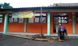 Disdik Kota Bogor Perbaiki Atap SDN Otista yang Ambruk