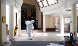 Dua Masjid di Singapura Dibuka Kembali Usai Sanitasi