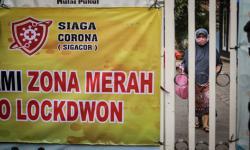 Warga Zona Merah Tangerang Dilarang Gelar Kerumunan