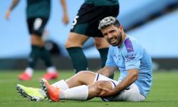 Tampil Satu Babak Vs West Ham, Aguero Cedera Lagi