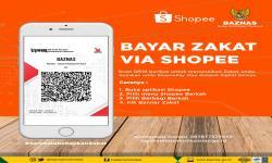 Shopee dan Baznas Permudah Pembayaran Zakat dari Rumah