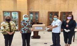 Sinar Mas Land Serahkan 100 APD ke Pemkot Tangerang Selatan