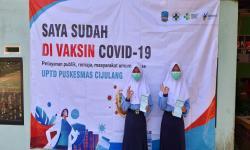 Pelajar SMP di Pangandaran Mulai Jalani Vaksinsi