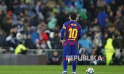 Cedera Paha, Messi Dipastikan Absen Latihan