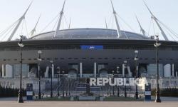 Stadion Krestovsky Saint Petersburg Rusia