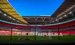 Stadion Wembley Inggris, tuan rumah laga Inggris di Grup D dan final di Euro 2020.